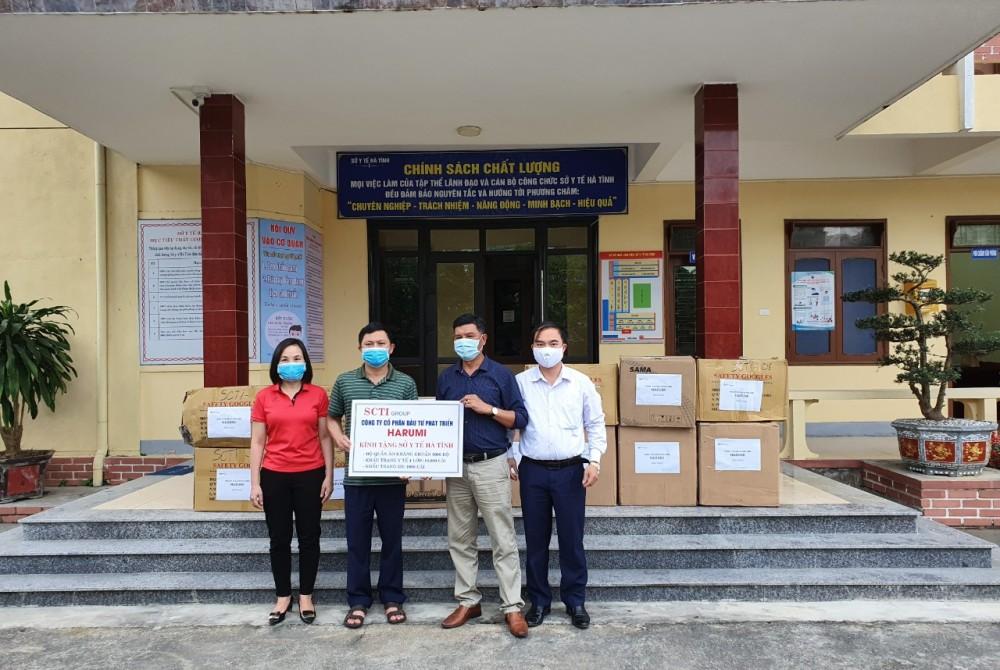 HARUMI chung tay cùng Hà Tĩnh chống dịch Covid-19